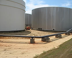 3 silo tanks