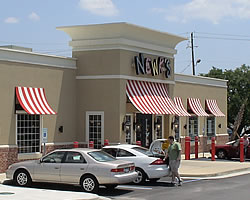 photo of the outside of NEWK'S Express Café Site Plan, Mobile, Alabama