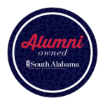 Alumni Owned South Alabama logo